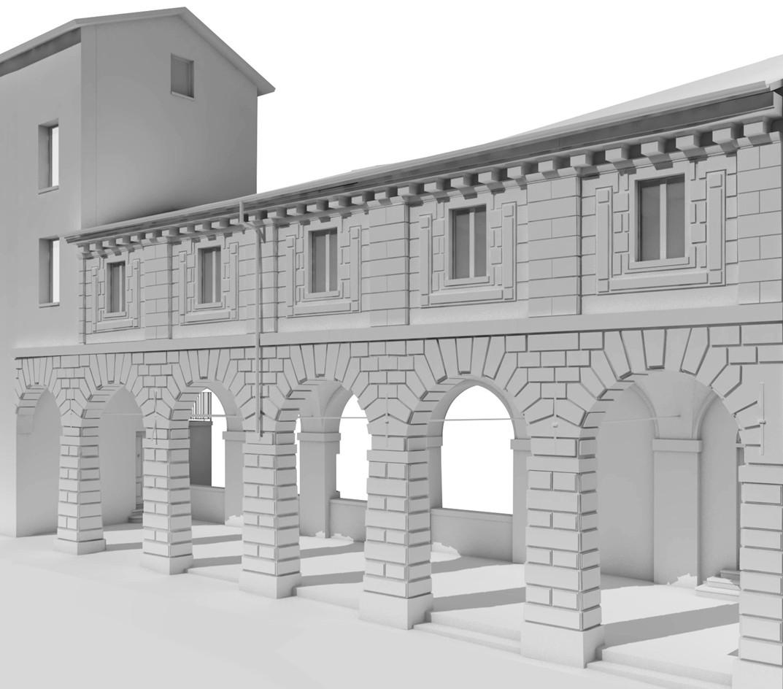 Pescherie di Giulio Romano Mantova BIM